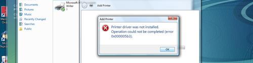 Printer Error